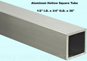 "x 4/"" idx 5 /"" long 6061 Aluminum tubing 5 1//2/"" o.d"