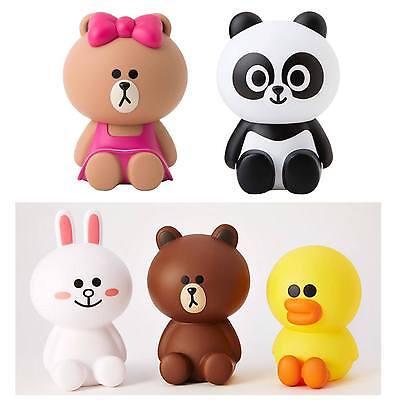 Korea LINE Friends Brown Cony Sally Choco Pangyo Coin Bank Figure Mascot Gift