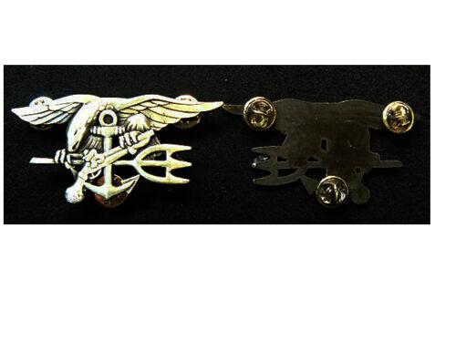 Brevetto Us Navy Seal Badge argentato
