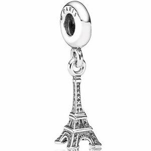 PANDORA-Charm-Element-791082-Silber-Beads-Eiffelturm-Paris