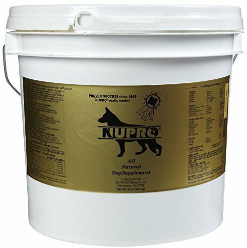 NUPRO SUPPLEMENTS 330015 All Natural Dogs Supplements for Pets 20-Pound