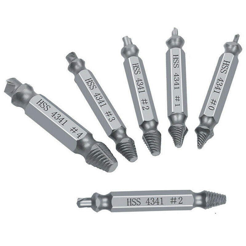 6x Damaged Speed Out Tool Remover