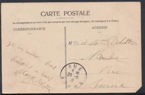 France Postcard - Crecy-En-Ponthieu - Place Du Marche Au Bie T412