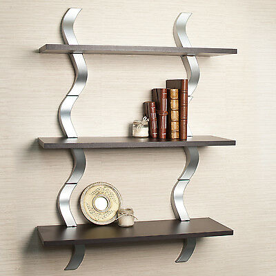NEW Wall Display Shelf Mounted Floating Furniture Room Home Decor Storage Unique