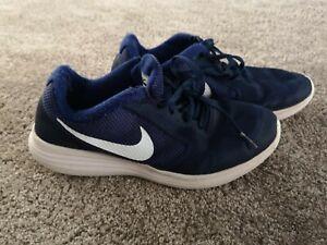 Boys Nike Revolution 3 Blue Trainers UK