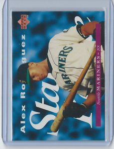 1995-Upper-Deck-215-Alex-Rodriguez-Seattle-Mariners-HOF-Mint-Rookie