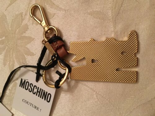 AW15 MOSCHINO COUTURE Jeremy Scott Looney Tunes Keyring KeyChain Tweety Taz Bugs