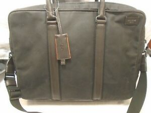 Jack-Spade-Powerjack-Collection-Chargeable-Commuter-Brief-NWT-548-Black