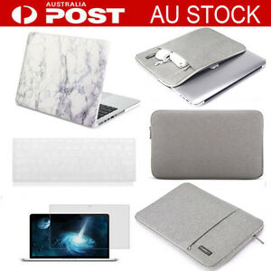 low priced be06f 04df6 Details about For Mac Apple macbook Pro Air 11 13 15 Retina marble case +  Rubberized KB cover