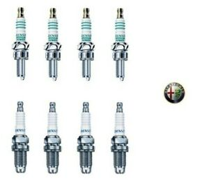 DENSO Set 8 Bougies Alfa Romeo 145 147 156 Gtv Spider 1.4 1.6 1.8 2.0 Twin Spark