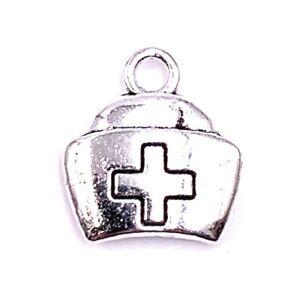 Medi-Pacco-Salute-Medicina-Ciondolo-Collana-Artigianato-Forniture-Gioiello
