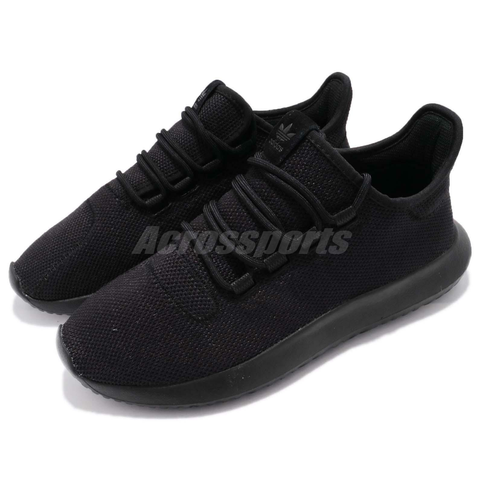 adidas Originals Tubular Shadow Sneakers Triple Black Men Running Shoes Sneakers Shadow CG4562 f1e8a4