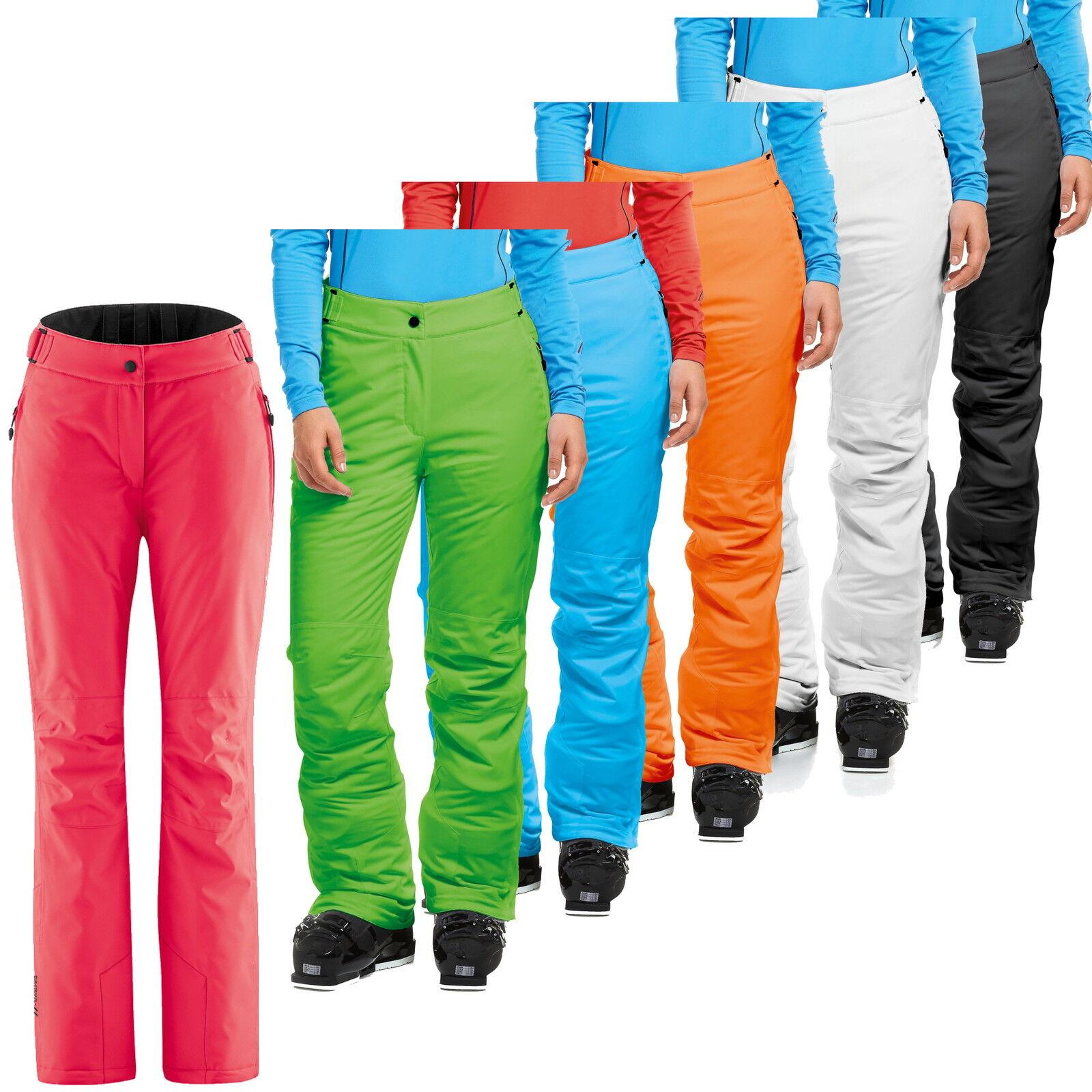 Maier-Sports Damen Skihose RESI 2 - 200000 - Normalgrößen und Kurz - 6 Farben