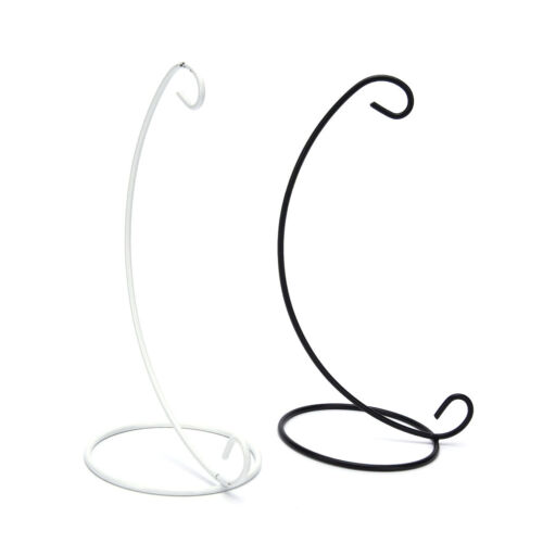 """23cm 9/"""" Iron Plant Stand Holder for Clear Glass Hanging Vase Home Decor Gut FBB"""