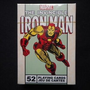NEW-Marvel-034-The-Invincible-IRONMAN-034-Deck-of-Playing-Cards