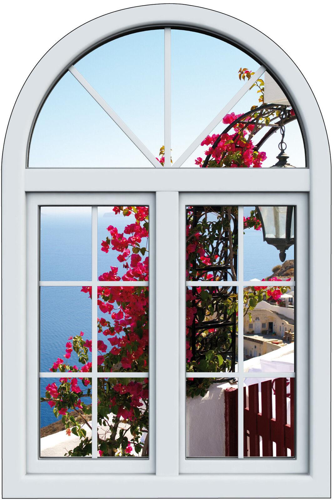 Aufkleber Fenster Schein Auge Blaumen Schön Ansicht Ref 1014