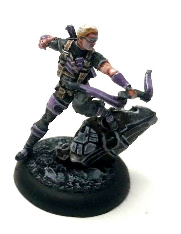 Painted Knight Models Marvel Universe Miniatures Game  Hawkeye
