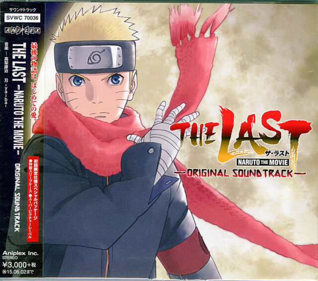 OST-THE LAST - NARUTO THE MOVIE-JAPAN CD G88