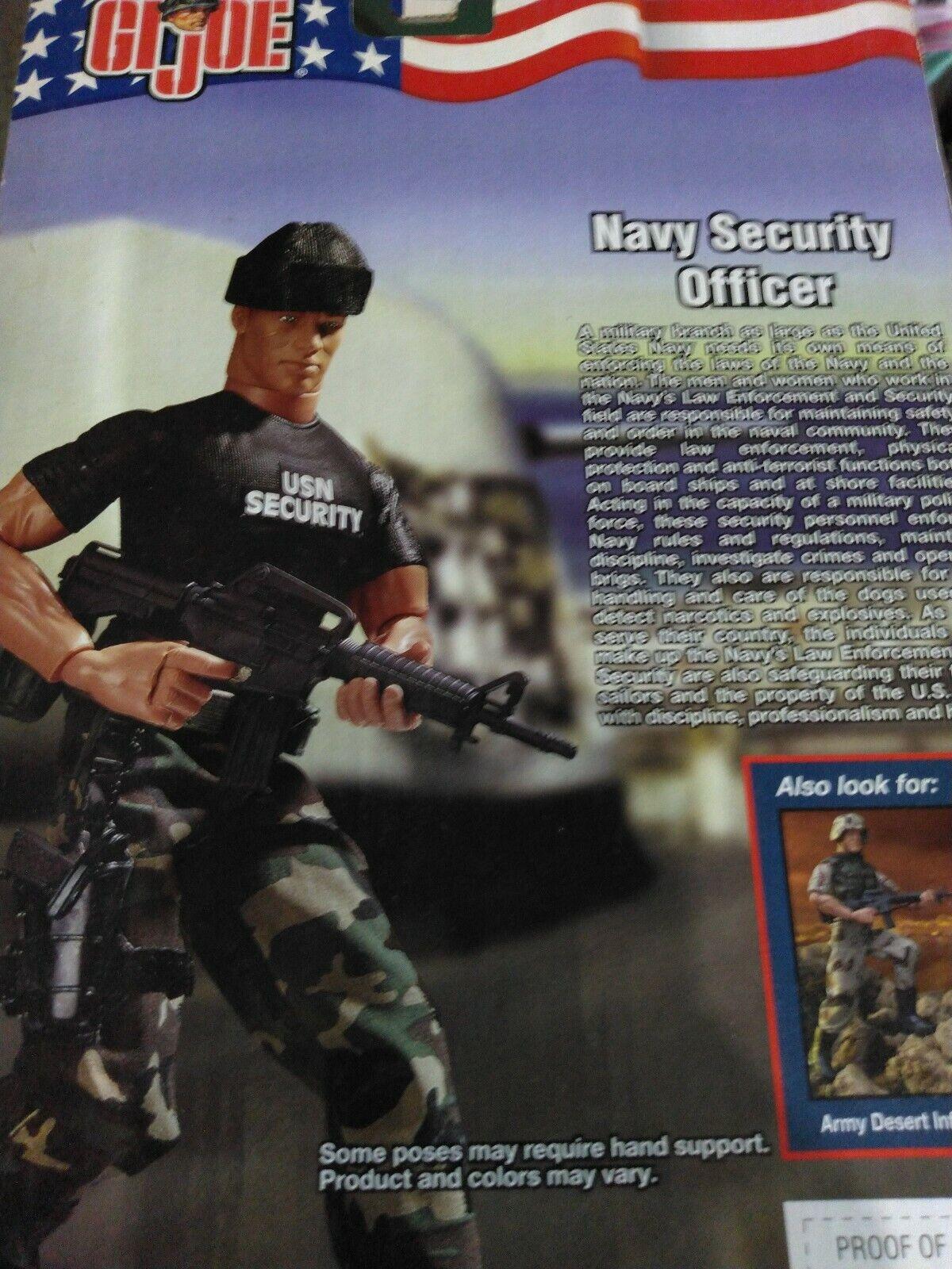 Gi Joe Navy Security Officer