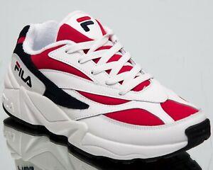 Detalles acerca de Fila Venom 94 LOW para Hombre Blancas Color Bloque  Estilo De Vida Zapatos 1010255-150- mostrar título original