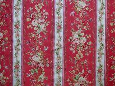 Patchwork Rosenstoffe Quilt Gate Romantik Nostalgie Rosen Bordüre Pink Altrosa