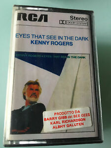 MC-NEW-ITALY-Kenny-Rogers-Eyes-That-See-In-The-Dark-NO-LP-CD