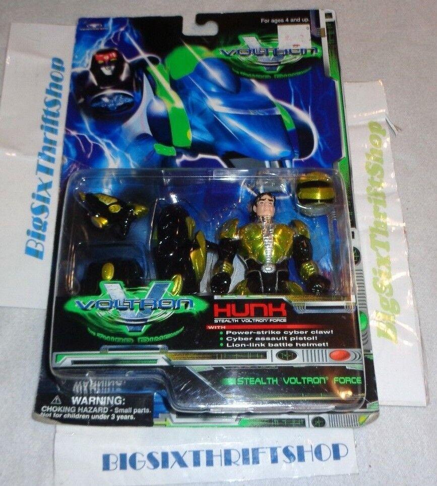 1999 voltron der dritten dimension hunk stealth action - figur trendmasters kraft