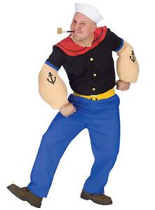 Popeye-Sailor-Man-Comic-Cartoon-1920s-1930s-Humourous-Dress-Up-Men-Costume