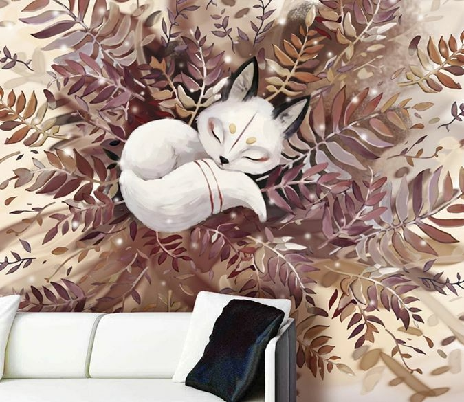 3D Animal Painting art 0225 Wall Paper Wall Print Decal Wall Deco AJ WALLPAPER