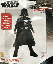 NWT Disney Store Boys Star Wars Darth Vader Costume with Sound Sz 9//10