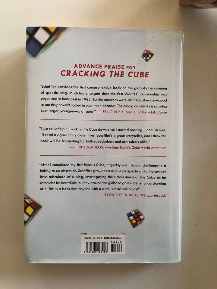 Cracking the cube, Ian Scheffler, emne: hobby og sport