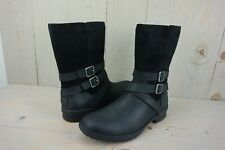 9262afe7020 UGG Women's Lorna Waterproof Leather BOOTS 1095155 Black Size 9 for ...