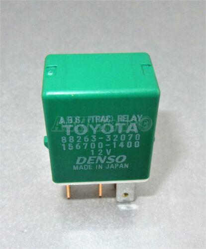ABS Trac 156700-1400 236-Toyota Lexus Green relais Denso 88263-32070 5-Pin