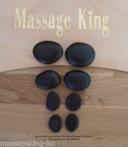8-pc-Basalt-Toe-Stones-for-Pedicure-or-Hot-Stone-Massage-FREE-shipping