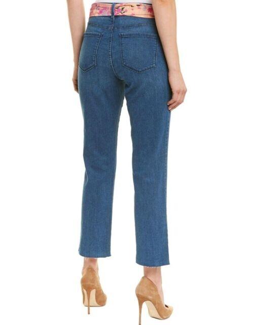 NYDJ Womens Sheri Gray Frayed Raw Hem Ankle Ankle Jeans Plus 22W BHFO 6137