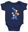 Infant-Baby-Boy-Girl-Rib-Bodysuit-Clothes-Gift-Eeyore-Gloomy-Donkey-Balloons thumbnail 14