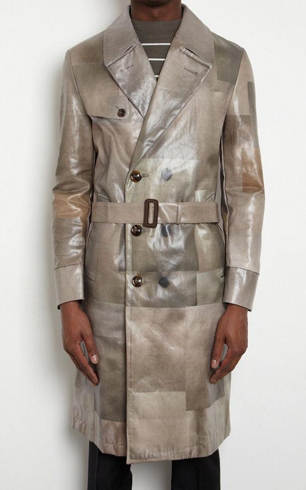 2100 NWT Authentic MAISON MARTIN MARGIELA Trench Coat Rainwear IT-54 US-44