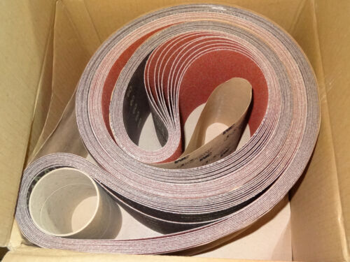 "10 new 3M Brand 963G 6/"" x 132/"" 60 Ceramic Coated Abrasive Sanding Belts 68168"