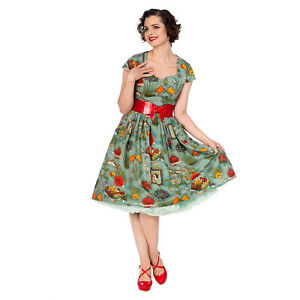 Kahlo Retro Moon Zu Summer Jahre Swing Days Details Sommer Kleid Dancing 1950er Frida by7gvfY6