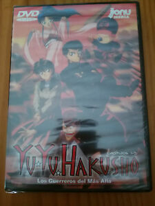 Yu-Yu-Hakusho-Manica-Episodi-1-5-Spanish-Edition-DVD-Jonu-New-Sealed-Nuovo