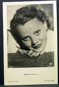 Sabine-Peters-Film-Foto-Autogramm-AK-j-5334