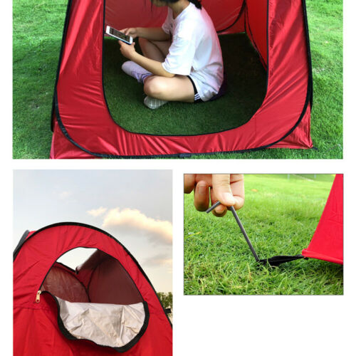 Pop Up Tent Camping Toilet Shower Changing Private Room Outdoor Instant Set Up