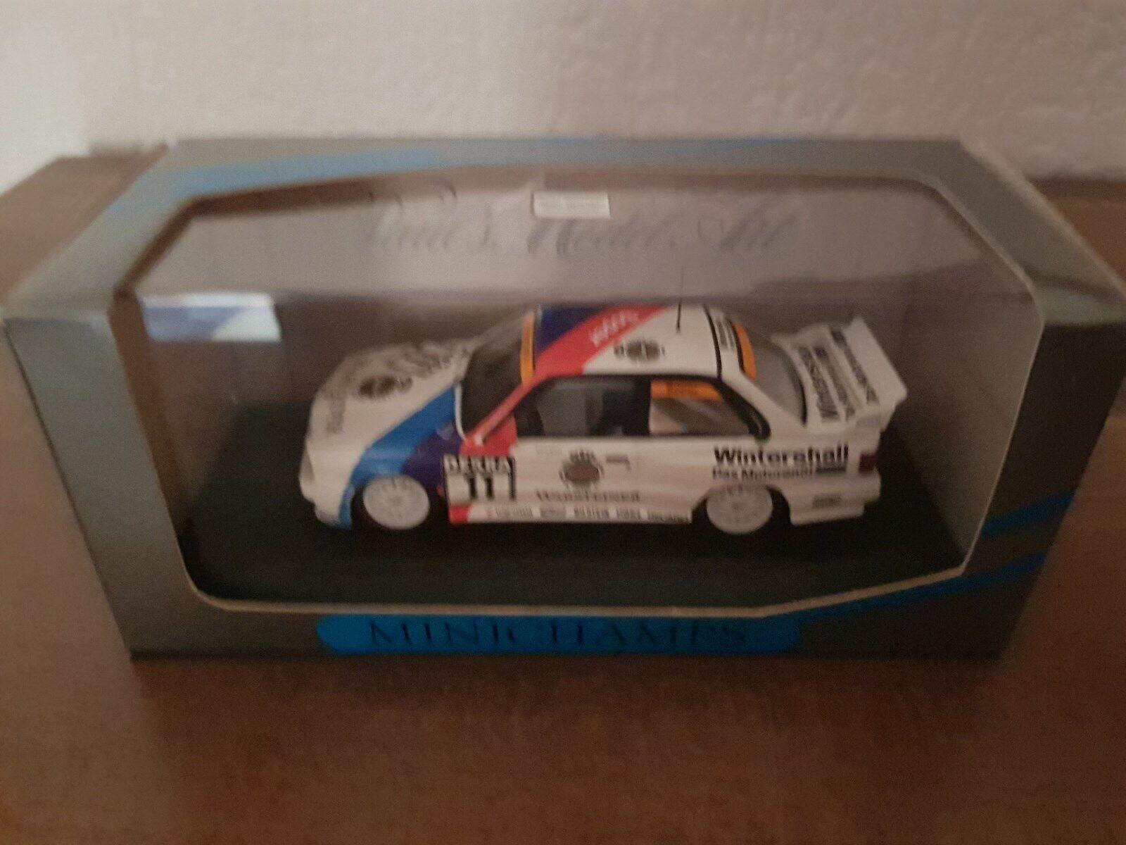 BMW M3 E30 DTM 1991  11 Team Bigazzi S.Soper 1 43 Minichamps