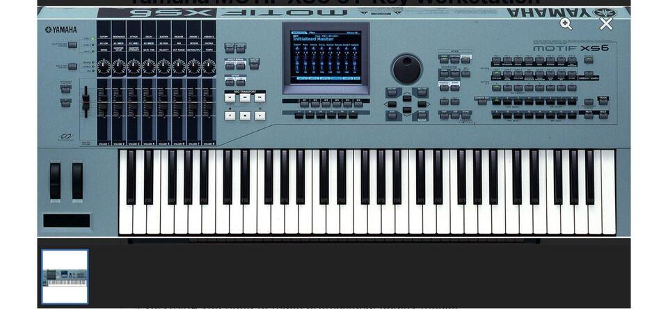 Workstation, Yamaha Motif XS 6