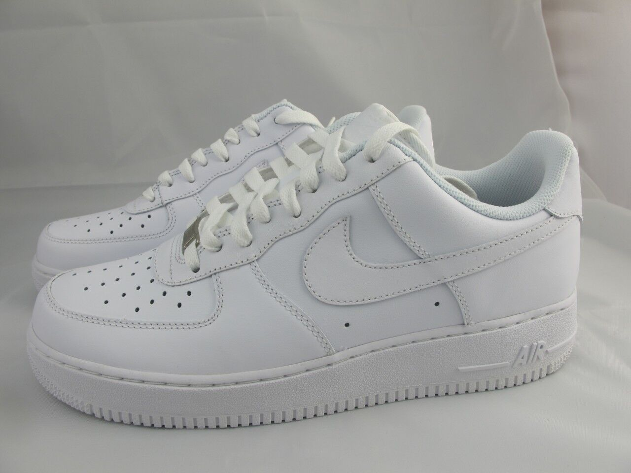 NEW MEN'S NIKE AIR FORCE 1 LOW '07 315122-111 WHITE