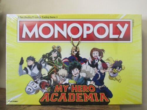 NEW! 2039 Monopoly MY HERO ACADEMIA Board Game