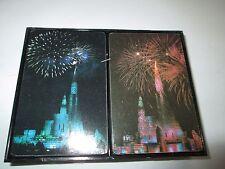 New 2 Decks of Disney Cinderella Castle Playing Cards
