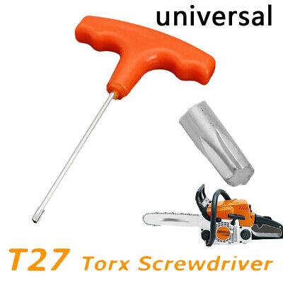 15cm Orange Universal T Handle T27 Torx Screwdriver Equipment For Stihl Makita