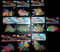 288 (12 Packs) Finger Bandz You Pick 100% Silicone Rubber Bands Silly Bandz