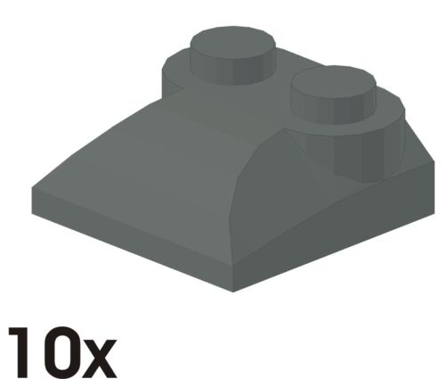 10 St 47457 nuove pietre circa 2x2x0,66 a NUOVA GRIGIO SCURO 408